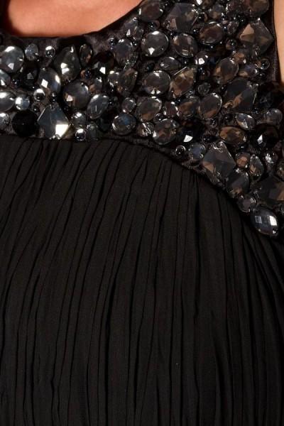 langes Abendkleid aus Chiffon-Stoff elegantes Kleid lang ...
